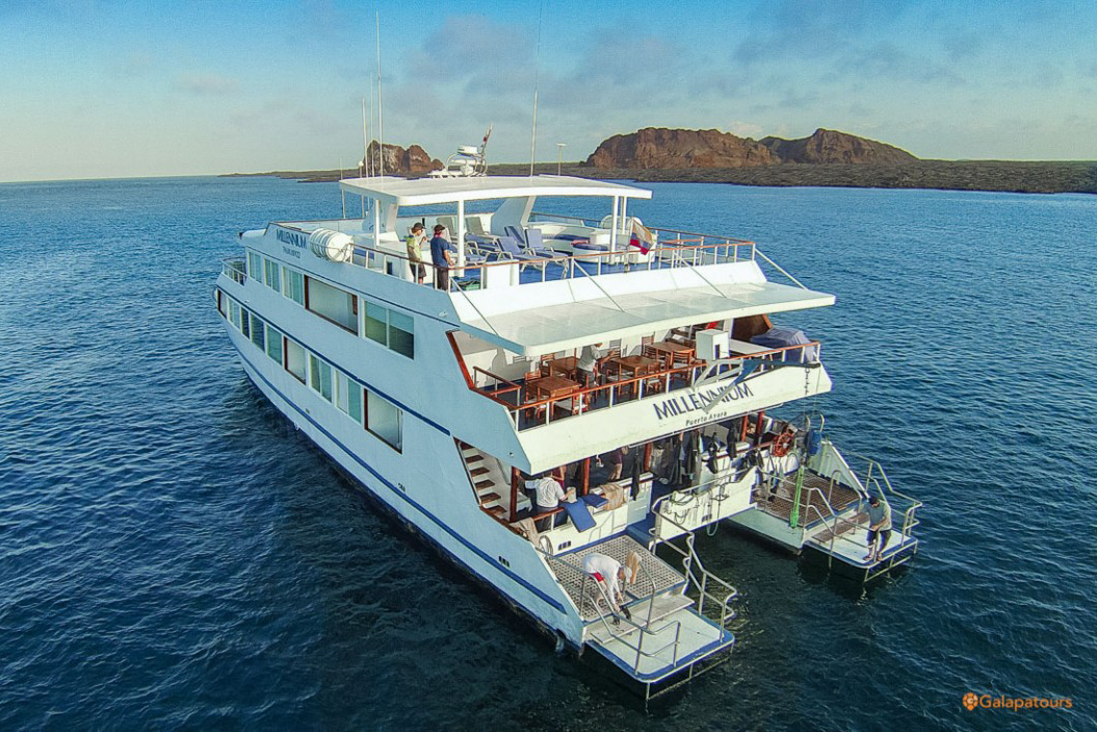 galapagos islands cruise millennium ship