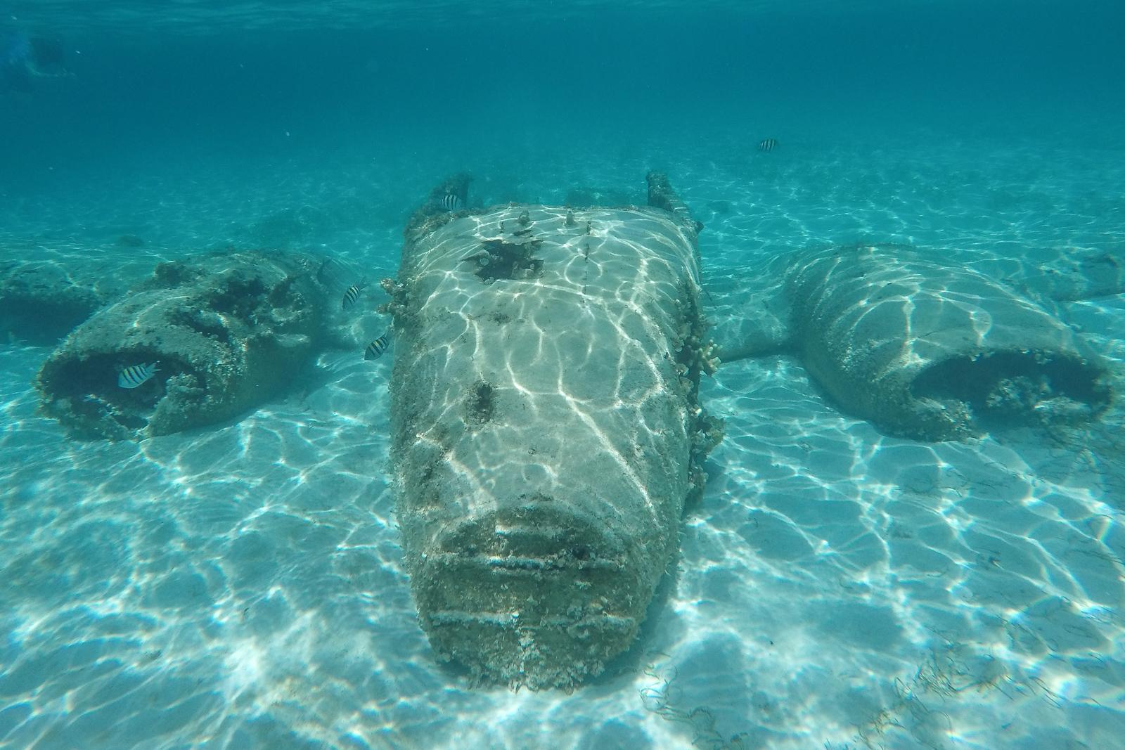 Miami to Bahamas Staniel Cay plane wreck