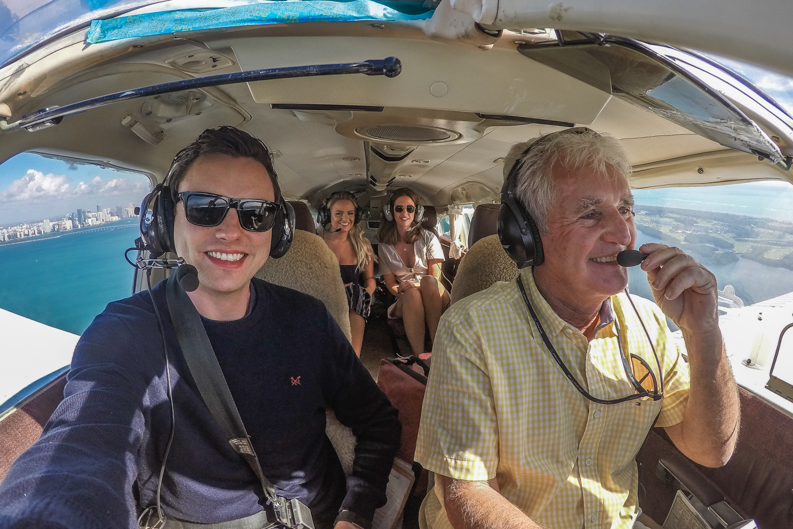 Things to do in Miami take a flightseeing air tour along south beach, downtown and the everglades. Air tours by plane in Miami