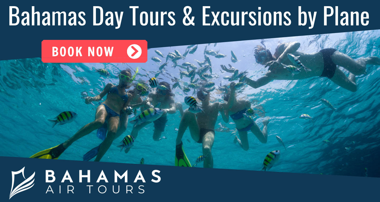 Bahamas Day Trips Excursions by Plane with Bahamas Air Tours. Discover Staniel Cay in Exuma Bahamas