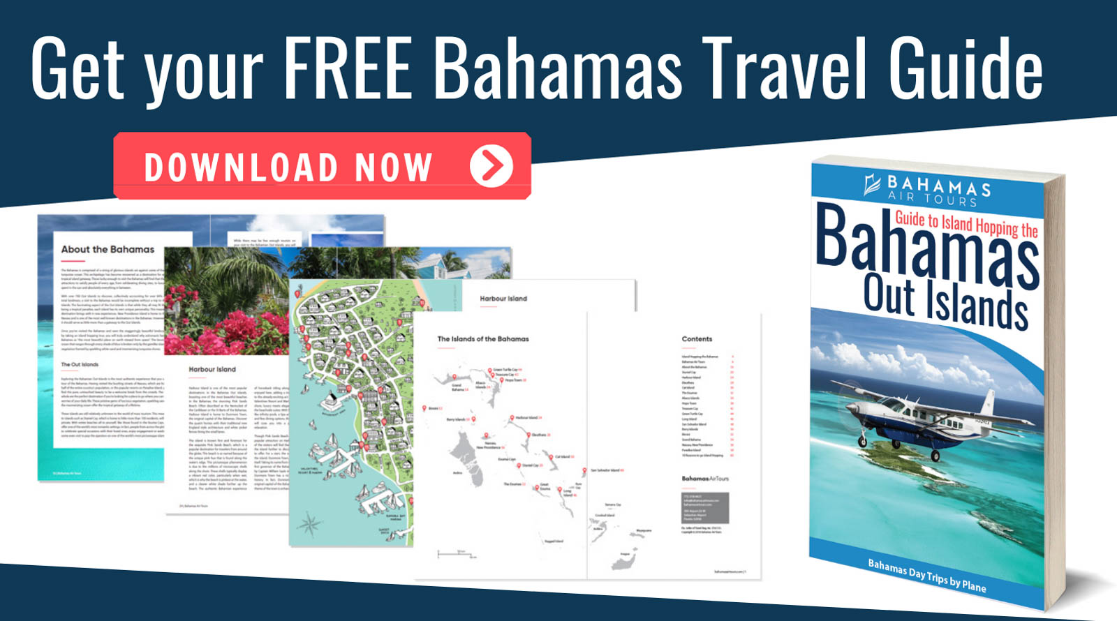 Bahamas Travel Guide Free Download. Visit the Bahamas and Staniel Cay on a Bahamas Day Trip with Bahamas Air Tours