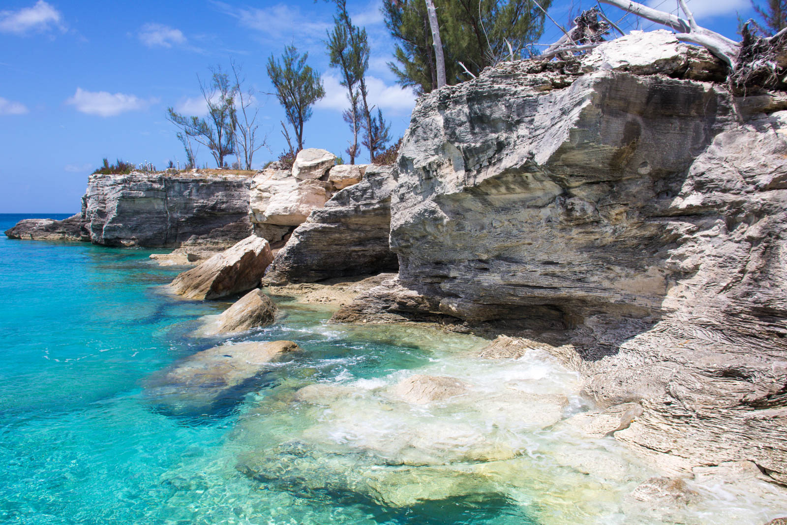 Dive into the turquoise waters of the Bahamas. There are plenty of the best things to do in Nassau located just around the cruise port for those on flights to Bahamas.