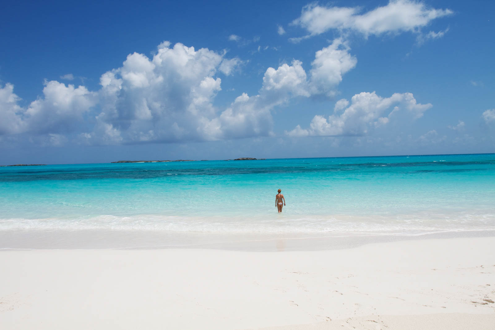 Take the boat from Miami to Bahamas to these beautiful beaches. The boat ride from Miami to Bahamas takes much longer than a Bahamas day trip by plane.