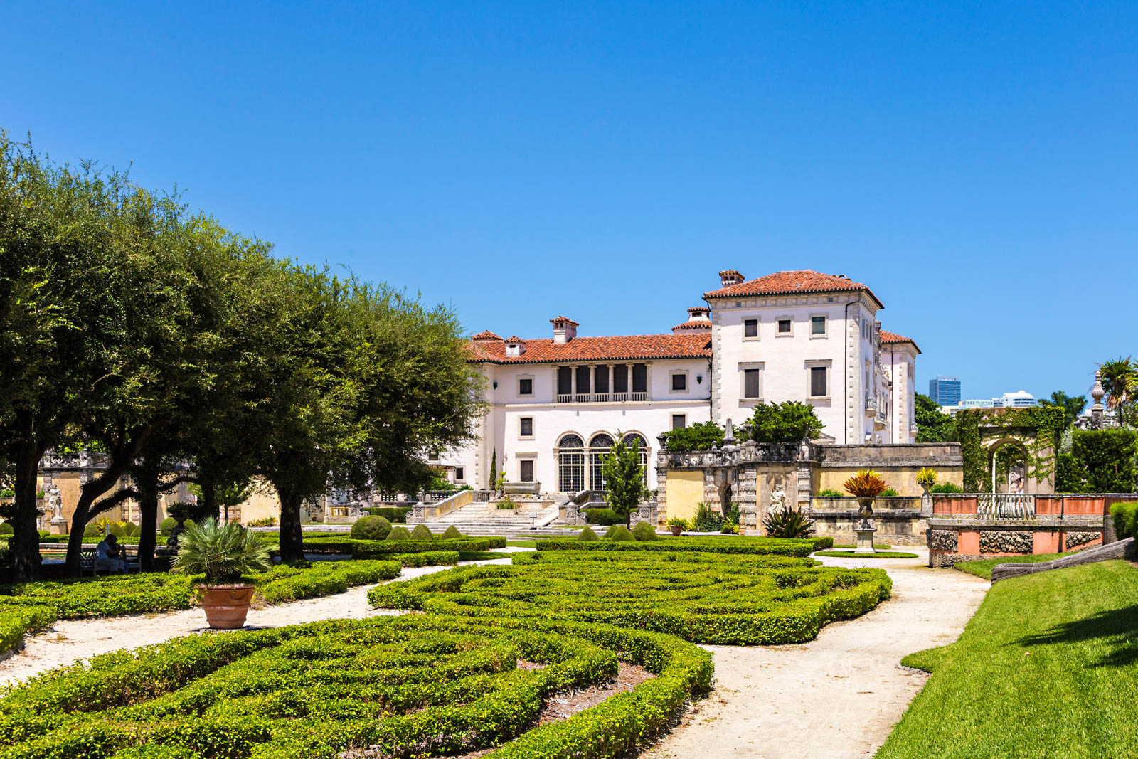 The Vizcaya Mansion is the grandest in all of Florida. It is one of the most intriguing places to visit in Florida / Miami and a cool places to visit in Florida.