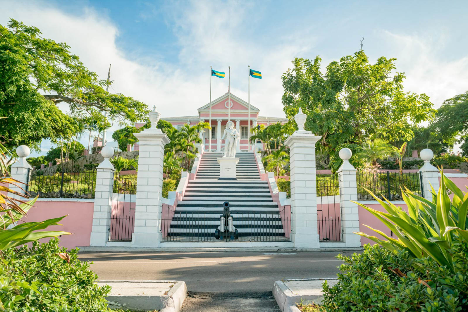 The Queen's Staircase is among the many things to do in Nassau Bahamas. Check out more places to visit in Bahamas in downtown while you stay there.