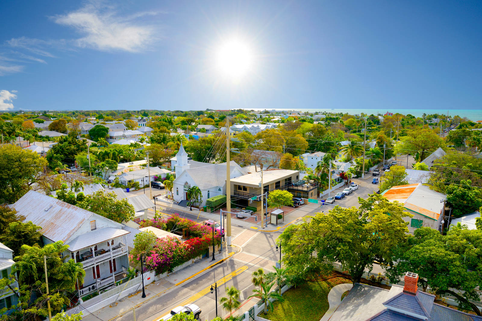 Roam around Key West which is one of the best things to do in South Florida. It is well within a day trip and among the best places to go in Florida.