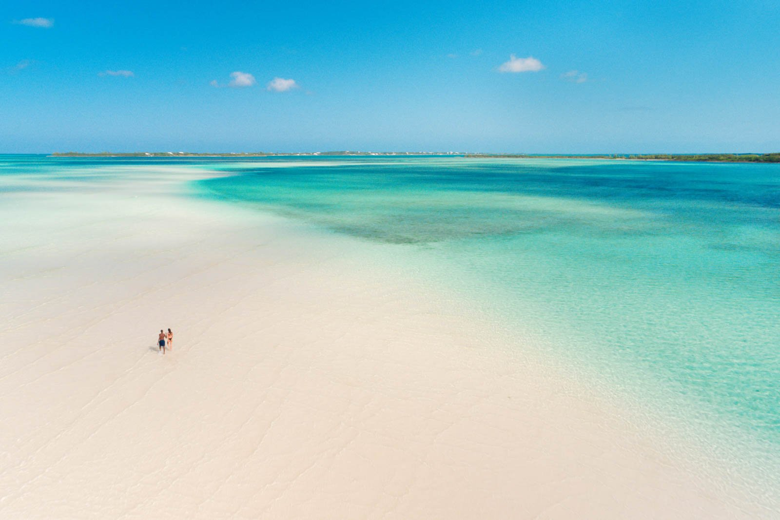 Many of the best things to do in the Bahamas are located on Eleuthera. Sand bars like this are among what to do in the Bahamas. Your Bahamas day trip will be filled with excellent options.