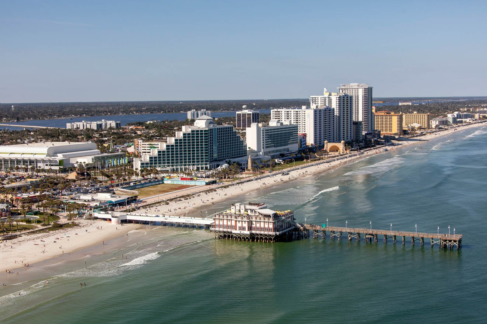 The Daytona Beach Pier is just a day trip away and one of the more unique things to do in Orlando. This is one of the fun things to do in Orlando to keep you busy.