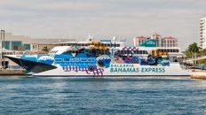 Boat from Miami to Bahamas on the Ferry Miami Bahamas Balaeria or fly with Bahamas air charter company, Bahamas Air Tours on your Bahamas day trip.