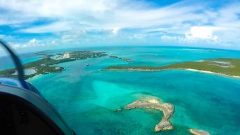 Your Fort Lauderdale to Bahamas day trip by plane offers stunning views which makes trips to Bahamas from Fort Lauderdale unforgettable.